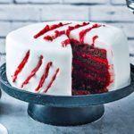 Halloween slash cake