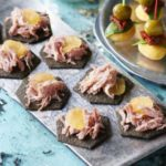 Ham & stem ginger thins