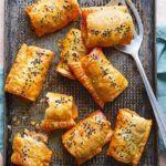 Harissa & lamb sausage rolls