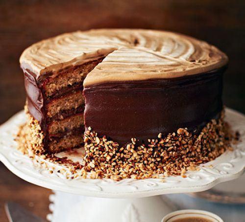 Hazelnut latte cake Recipe