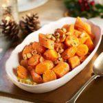 Hazelnut & mustard carrots