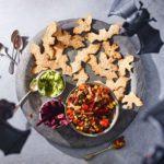 Healthy Halloween nachos