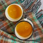 Hot spiced buttered rum