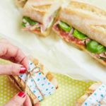 Mozzarella & salami picnic baguette