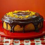 Giant jaffa orange cake