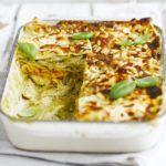 Chicken, squash & pesto lasagne