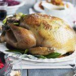 Lemon & herb-basted simple roast turkey