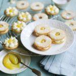 Lemon sherbet jammy dodgers