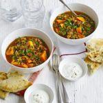 Lentil & sweet potato curry