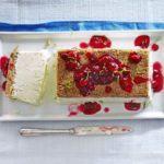 Lime semifreddo cheesecake