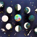 Moon cycle cupcakes