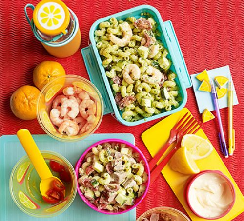 Lunchbox pasta salad Recipe