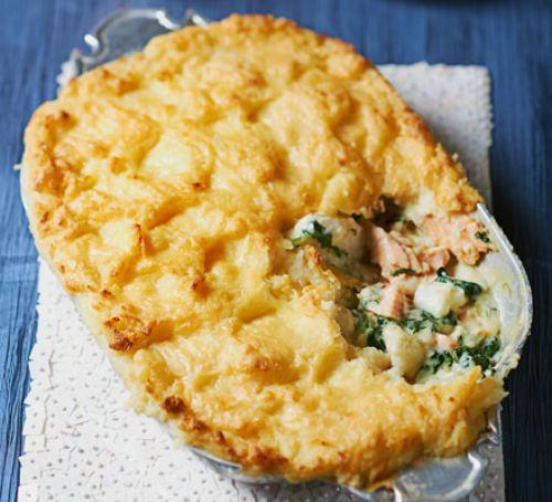 Luxe fish pie Recipe
