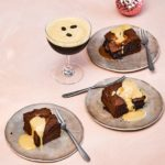 Melt-in-the-middle espresso martini brownies