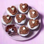 Melting heart muffins