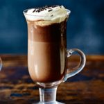 Midnight mint hot chocolate