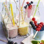 Mini milkshakes