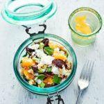 Minty beetroot, feta & bulgur salad