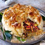 Moroccan-spiced turkey pie