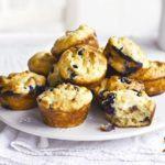 Nutty blueberry muffins
