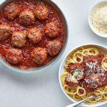 Next level spaghetti & meatballs