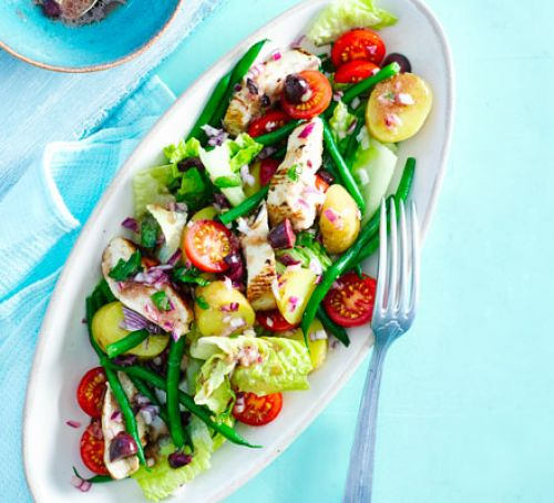 Nicoise chicken salad Recipe