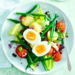 Egg Nicoise salad