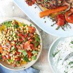 No-cook chickpea salad