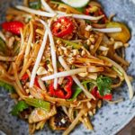 Brussels sprouts pad Thai