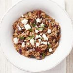 Beetroot orzotto