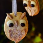 Easy snowy owl christmas tree biscuit recipe