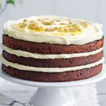 Low sugar chocolate sandwich cake