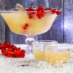Pear & rose punch
