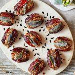 Pecan-stuffed dates