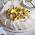 Pineapple & ginger Pavlova