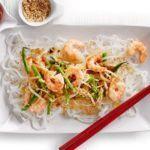 Prawn & rice noodle stir-fry