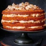Pumpkin & caramel cake