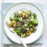Quinoa, squash & broccoli salad