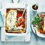 Ratatouille & parmesan bake