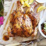 Spatchcock piri-piri chicken