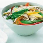 Speedy noodle soup