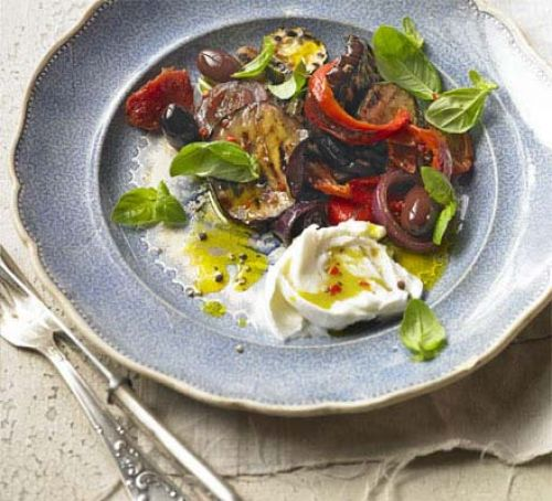 Chargrilled vegetable salad Recipe