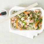 Crunchy prawn & noodle salad