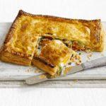 Salmon & lemon rice pastry parcel