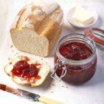 Really fruity strawberry jam