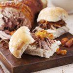 Chicken liver & chorizo open sandwich