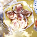 Ricotta, fig & prosciutto crostini