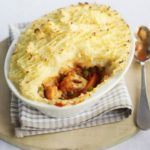 Winter vegetable pie