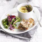 Chicken liver & raisin pate