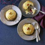 Pistachio & raspberry pithiviers
